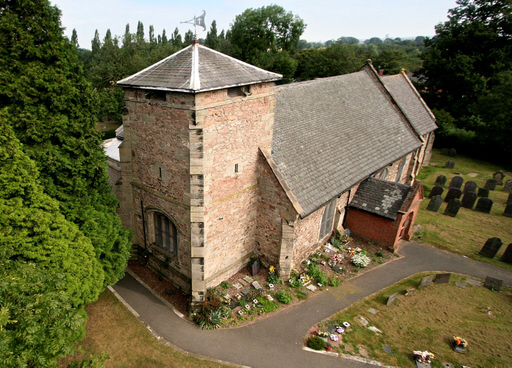 St Peter's aerial view