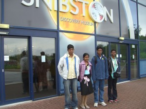 Photo: Outside the Snibston Discovery Museum